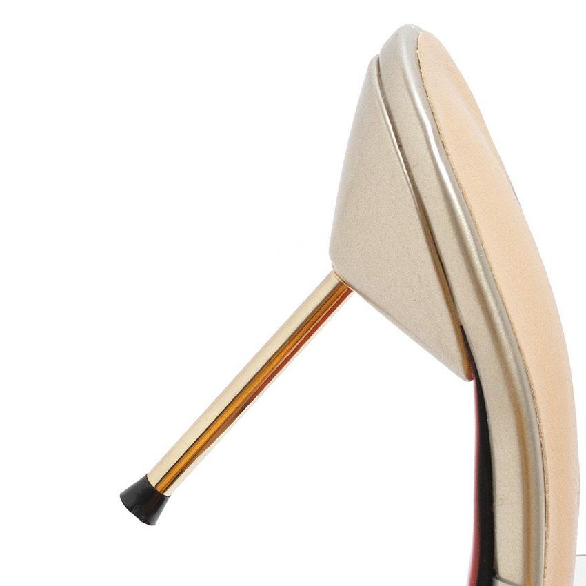 Slingback Femmes Esveva Pour argent D'été Pantoufles 2019 Taille or Style Glissement Talons Mince Sur Hauts Tendance Pompes Noir Élégant Chaussures 34 43 5r8rq