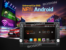 Universal 2 din Android 4.4 Car DVD player GPS Wifi Bluetooth Radio 2GB CPU DDR3 Capacitive Touch Screen 3G car pc aduio obd2