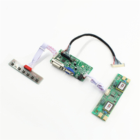 RT2281 LCD controller board support DVI VGA for 24 inch LCD panel M240HW01 V0 M240HW01 V0 1920x1080 free shipping
