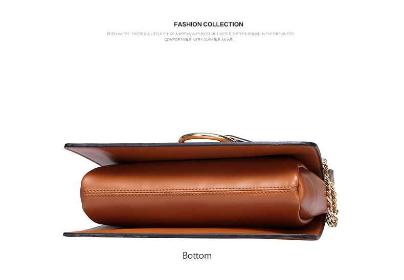 100% Genuine Leather Women Shoulder Bags Famous Brand Metal Ring Chains Women Crossbody Bags Retro Natural Leather Lady Handbag (18)