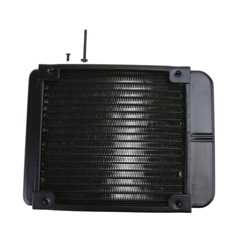 U shape Full Aluminum 120mm Water Cooling Radiator 18 Channels CPU-120 For Computer LED Water Cooling full aluminum 80mm 90mm water cooling radiator 8 channels cpu 80 for computer chip cpu gpu vga ram system heat exchange