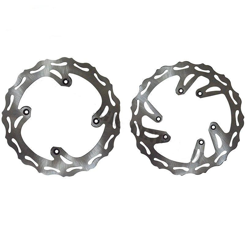 Front rear Wave brake disc of  CR CRF CR125 CR250 CR500 CRF250R CRF250X CRF450R CRF450X Motocross Enduro Supermotard Dirt Bike  цены