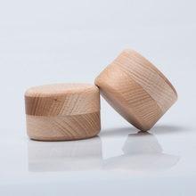 Artesanato natural caixas de armazenamento de madeira redonda anel caixa de jóias decorativas do vintage diy caixa de armazenamento de jóias artesanais
