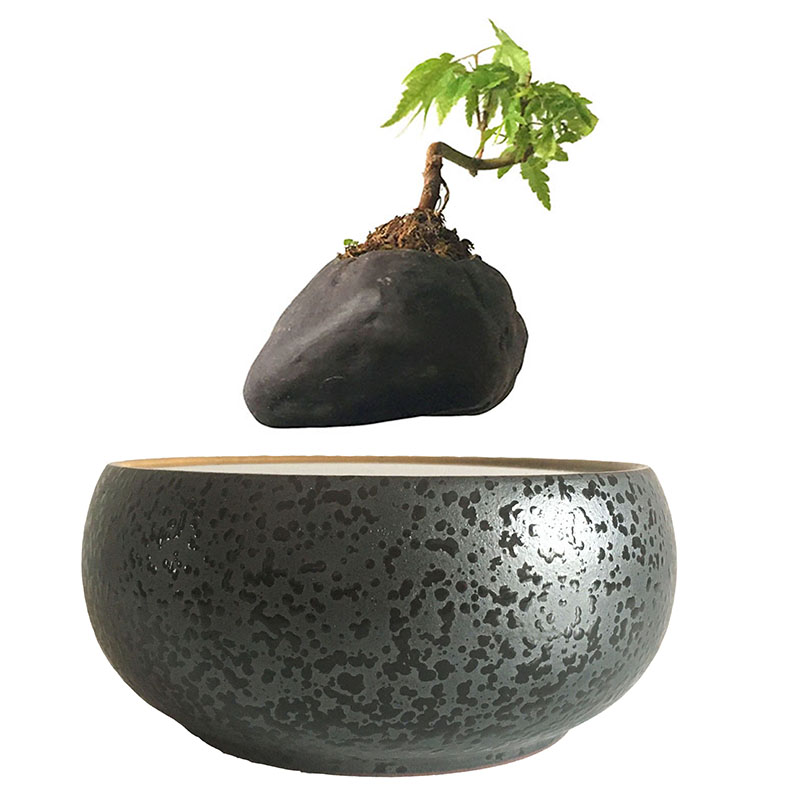 2017 Japan Magnetic Levitation Floating Plants Ceramic