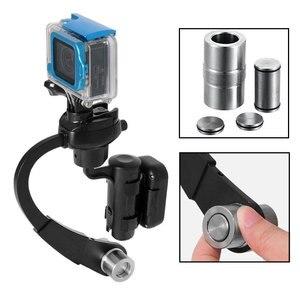 Image 5 - Mini Handheld Kamera Stabilisator Stetige 3 Farben Unterstützt für GoPro Hero 8 7 6 5 4 Sitzung Sjcam Sj8 M10 yi 4K Eken Action Kamera