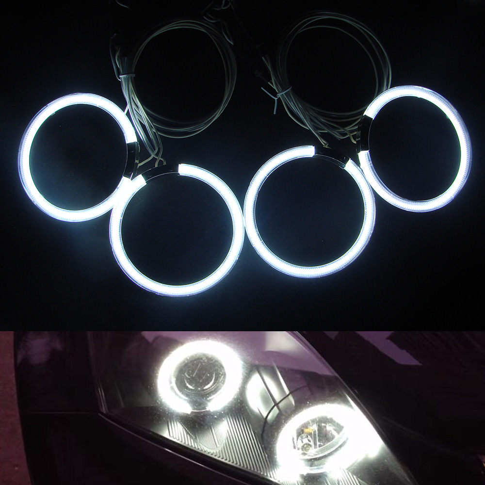 все цены на  Super Brightness 4 Halo Rings Kits & 2 High Power CCFL Inverter, CCFL Angel Eyes, car auto light for Honda CRV 07-08  онлайн