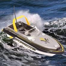 Электрический радиоуправляемый пульт дистанционного управления, Супер Мини скоростная лодка, двойной мотор, детская игрушка, быстрая зарядка, 40 МГц, подарок для мальчика, умная частота