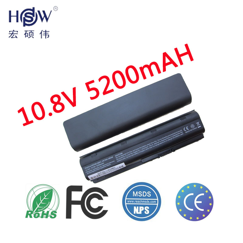 HSW 5200MAH Battery for hp Pavilion g6 dv6 mu06 586006-321 nbp6a174b1 586007-541 586028-341 588178-141 593553-001 593554-001 цена