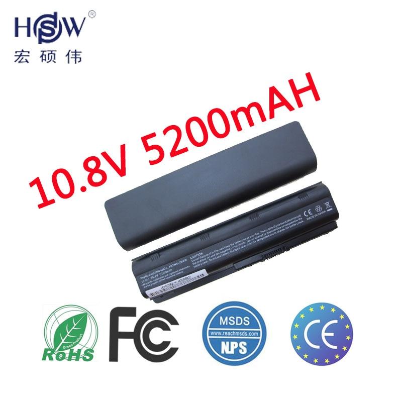מחשב נייד HSW סוללה עבור HP Pavilion g6 mu06 586006-321 סוללה עבור מחשב נייד 586007-541 586028-341 588178-141 593553-001 סוללה