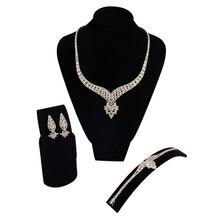 Весільні витончені ювелірні набори для жінок Ексклюзивний асортимент ювелірних виробів для ювелірних виробів з діамантами ювелірних виробів з діамантами