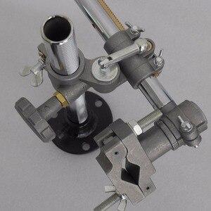 Image 4 - Sobre 50 vendido 36x33cm suporte titular da tocha de soldagem mig gun titular braçadeira montagens mig mag co2 tig positioner plataforma giratória
