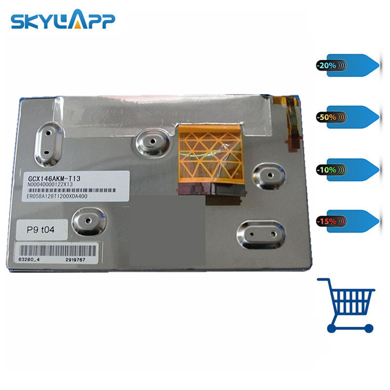 Skylarpu LCD screen display panel for GCX146AKM-E GCX146AKM EQ058A113050008QA400 N00040014231825 (without touch) Free shiping цена