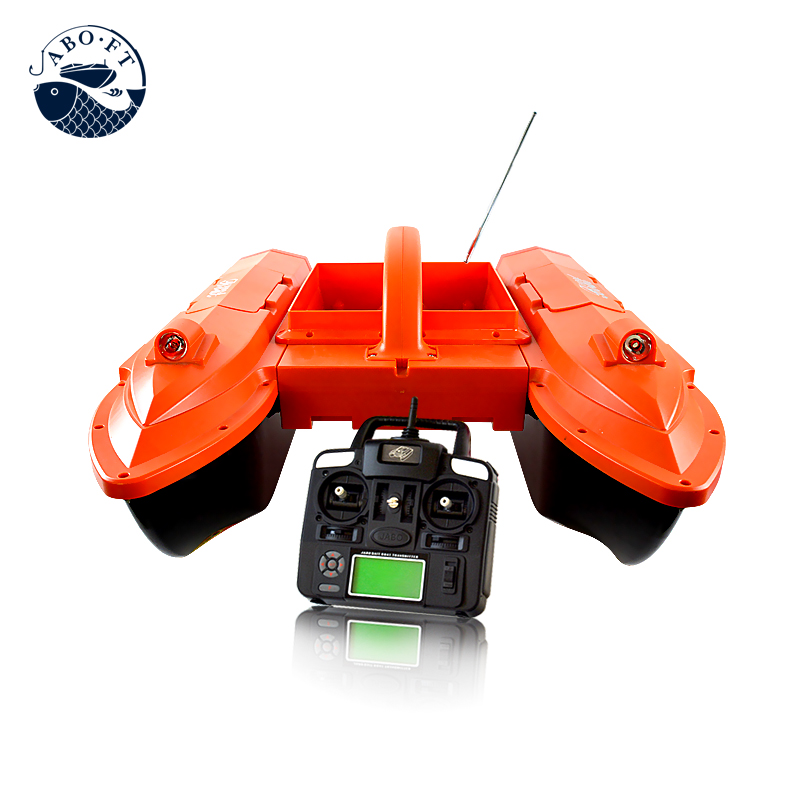 JABO 5CG 10A Radio Control Fish Finder RC Carp Bait Boat Night Sonar Detection GPS RTR Water&Temperature Detection aluminum water cool flange fits 26 29cc qj zenoah rcmk cy gas engine for rc boat