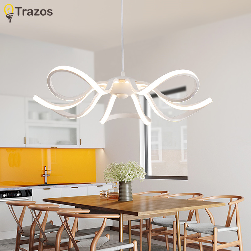 trazos pendant lights dining room led light fixtures luminaire modern pendant lamps us104. Black Bedroom Furniture Sets. Home Design Ideas