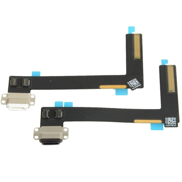 Original New Replacement Dock Connector Charger Charging Port Flex Cable for iPad 6 / Air 2 Micro USB Dock+Mic Microphone