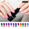 sarness Mood Changing Gel Nail Polish Temperature Color Changing Soak Off UV Gel lucky Colors Verniz Lacquer Thermal