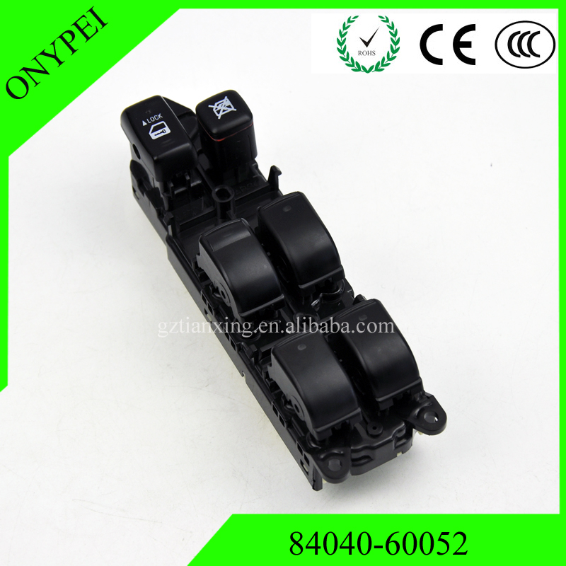 84040-60052 84040-60053 Window Master Switch For Toyota Land Cruiser 120 Prado GRJ120 TRJ120 8404060052 8404060053