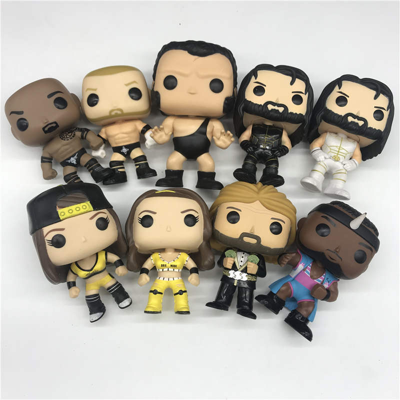 Model-Toys Action-Figure Wrestler Undertaker Ted Seth Rollins BELLA Birthday-Gift No