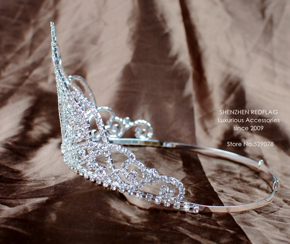Sexy Mermaid Style Bridal Wedding Tiaras Diadem 4.5