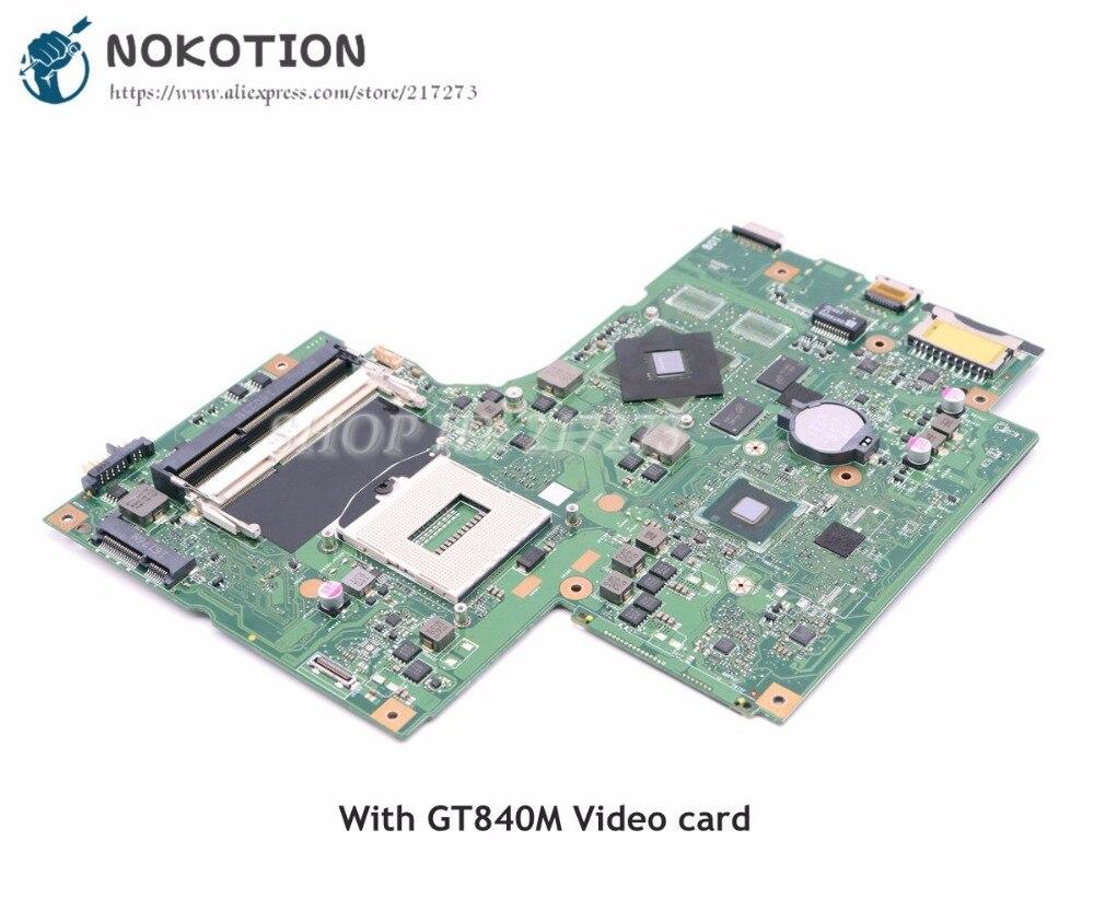все цены на NOKOTION For Lenovo Z710 Laptop Motherboard DUMBO2 MAIN BOARD REV 2.1 HM86 DDR3L GT820M Video card онлайн