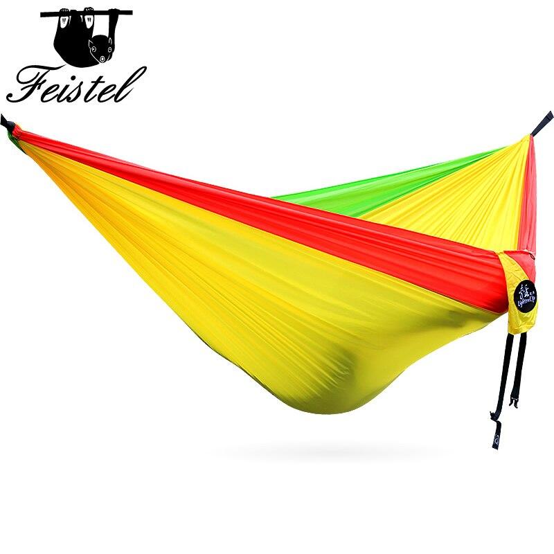Premium Supreme Quality Ultralight Camping Hammocks For Sale 300cm*200cm Durable Parachute Hammock