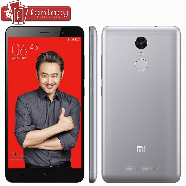 "Original Xiaomi Redmi Note 3 Pro Prime Special Edition Snapdragon650 Fingerprint ID 3G RAM FDD LTE 4G 16MP 5.5"" MIUI8 Cell Phone"