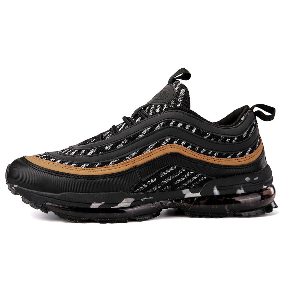 361f44645d03 Classique hommes Max 97 course chaussures formateur jordan 4 noir et blanc  cassé air 270 grande taille 46 athlétique plein air sport chaussures  baskets dans ...