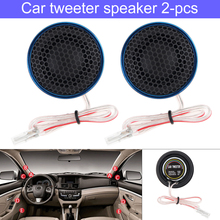 2pcs 1.5 Inch 180W  Car Tweeter Speaker T-255L High Efficiency Mini Dome Speakers for Audio System cars Auto