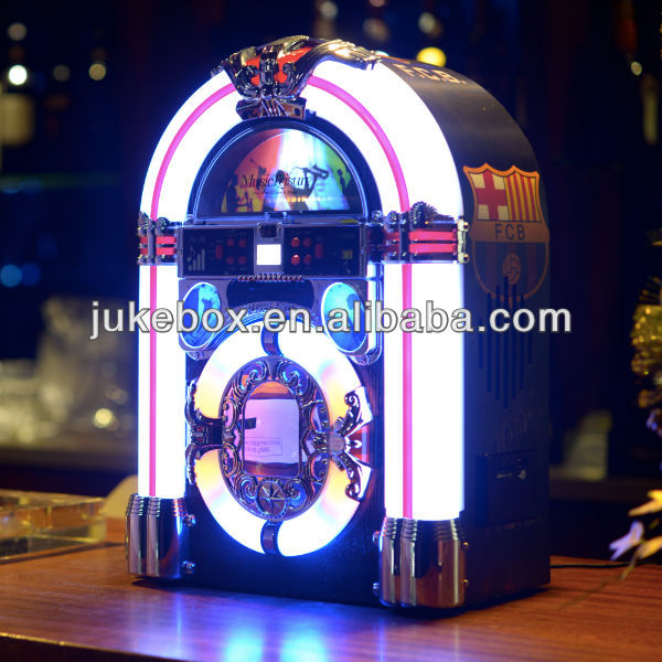 US $50 0 |Mini Desktop Jukebox with CD Player USB SD Slot on Aliexpress com  | Alibaba Group