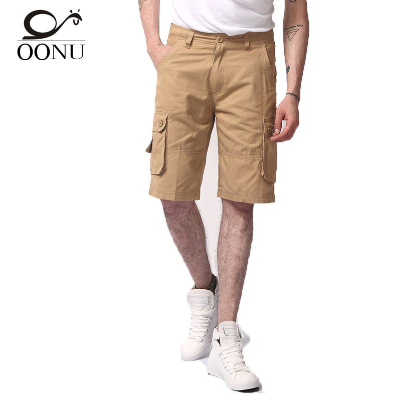 YOLAO  Hot Summer Men's Cargo Shorts Army Work Casual Bermuda Men Fashion   Overall Military Trousers Plus Size LTP1