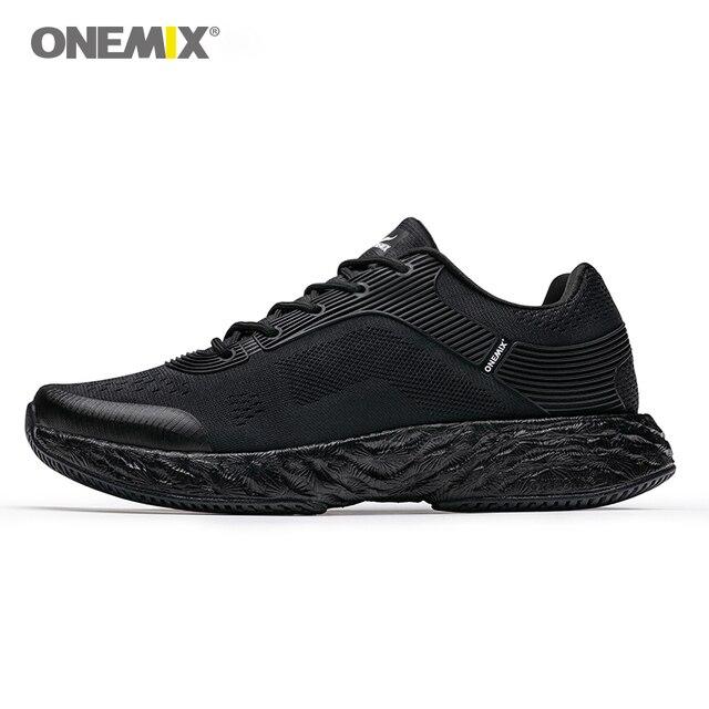 ONEMIX для мужчин кроссовки энергии кроссовки для марафона отскок 58 энергии падение высоких технологий эластичный гибкая подошва Нескользящая подошва