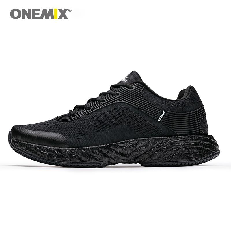 ONEMIX uomini scarpe da corsa maratona di energia scarpe da ginnastica rimbalzo 58 Energia di goccia high-tech elastico flessibile intersuola Anti-skid suola