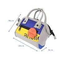 4 colors Multifunctional Oxford waterproof Women handbag female ring PU leather Shoulder bag