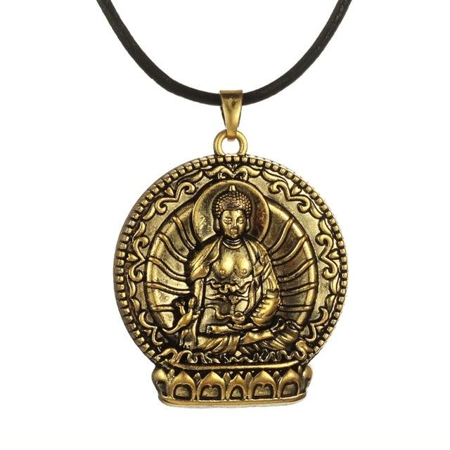 My shape antique bronze buddha pendant buddhist meditation necklace my shape antique bronze buddha pendant buddhist meditation necklace hinduism zazen jewelry aloadofball Image collections