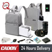 Caden Dslr камера сумка для Canon водостойкий Mochila Fotografia рюкзак женский мужской повседневный модный фото рюкзак для Canon