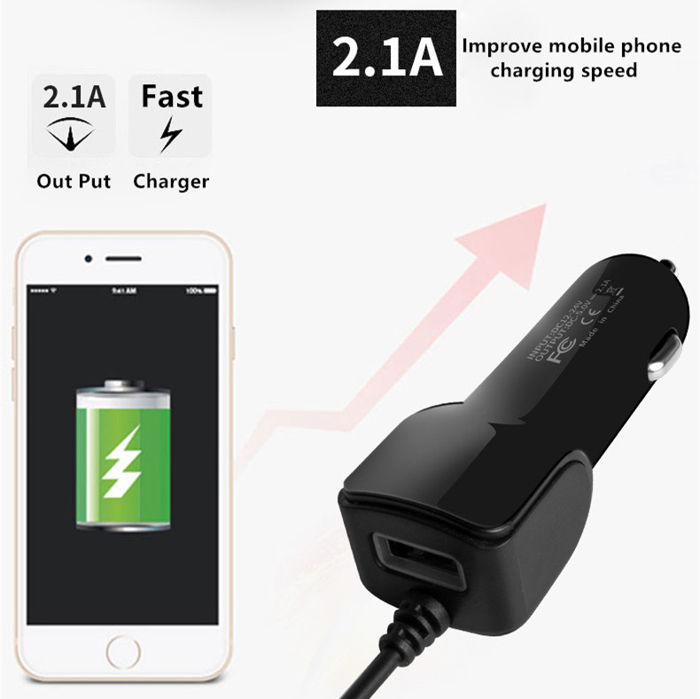 3 in 1 USB Car Charger For IPhone X 7 XS Max Car Charger Micro USB Type C Mobile Phone Charge For Samsung S9 S8 Xiaomi Huawei in Car Chargers from Cellphones Telecommunications