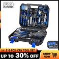 Prostormer 210 piezas Llave de trinquete de mano herramientas de combinación Socket Adapter Kit llave conjunto General de hogares llave de herramienta