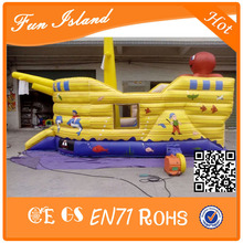 New theme seabed inflatable bouncer ship,new design inflatable castle ship