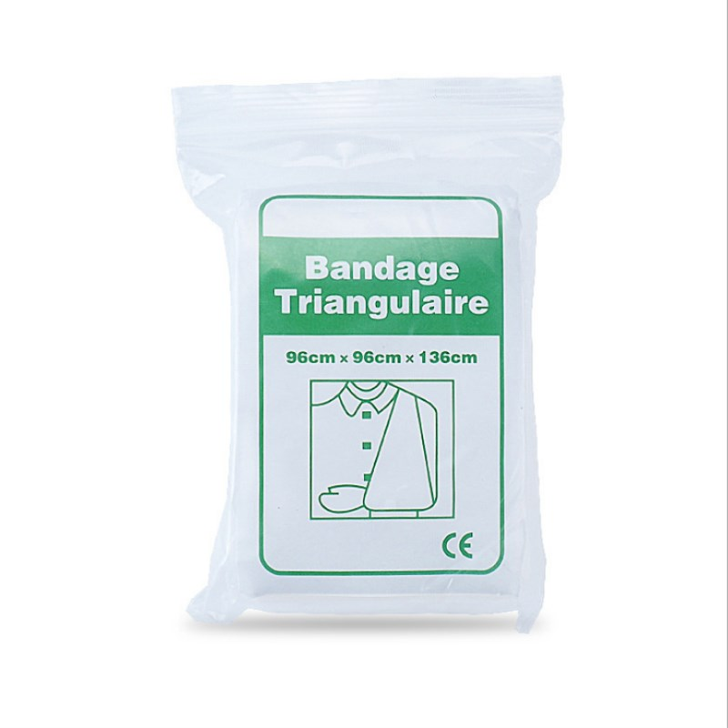2 Bag Medical Burn Dressing Bandage Triangular First Aid Kit Wrap Bandage Fracture Fixation Emergency Bandage Wound Care