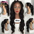 """24"""" Body Wave Lace Front Human Hair Wigs Brazilian Virgin Hair Glueless Full Lace Wigs For Black Women,Lace Front Ponytail Wigs"""