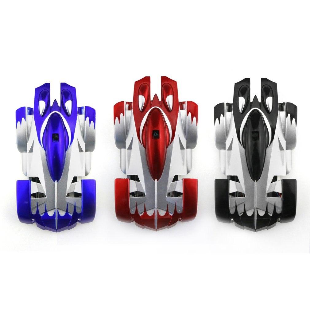 Carros de Controle Remoto parede de Escalada Eletricidade Antigravidade Máquina RC Piloto Parede Luzes LED 360 Graus de Rotação Do Carro Dublê Brinquedos