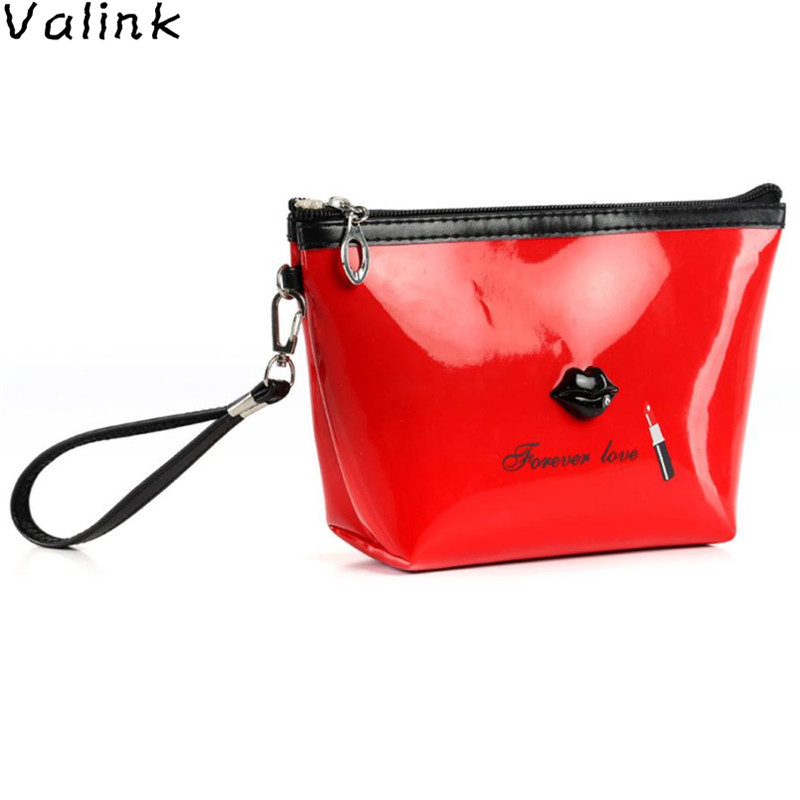 Valink 2017 New Cosmetic Bag Pouch Zip Toiletry Organizer Fashion Travel Makeup Box Clutch Make Up Bag Trousse Maquillage Femme fashion travel cosmetic bag makeup case portable travel pouch toiletry wash organizer trousse de maquillage for