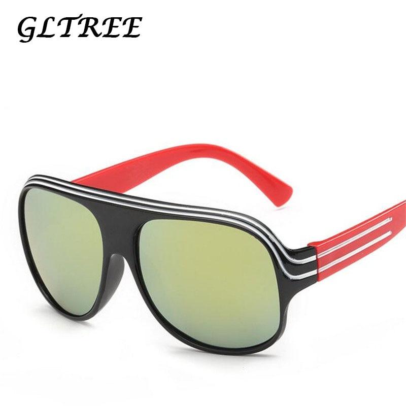 Boy's Sunglasses Boy's Glasses Gltree Cute Sunglasses Boys Girls Baby Infant Brand Square Sun Glasses 100% Uv400 Eyewear Child Red Glasses Oculos Eyewear G114