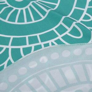 Image 5 - CAMMITEVER 4 Farben Lotus Böhmischen Mandala Tapisserie Sandy Strand Picknick Werfen Teppich Camping Zelt Reise Schlaf Pad Von Einrichtungs