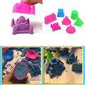 7 Шт./компл. Большой Размер Портативный Замок Замок Из Песка Пляж Песок Плесень Игрушки Дети Дети