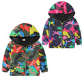 Winter Spring Kids Boys Children Stormbeak Waterproof Jacket Rain Coat Windbreaker Clothes