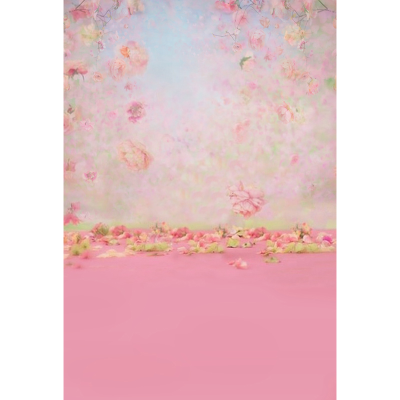 MEHOFOTO Vinyl Photography Background Pink Flower Computer Printed Children Backdrops for Photo Studio ZH-113 vinyl photography background bokeh computer printed children photography backdrops for photo studio 5x7ft 888