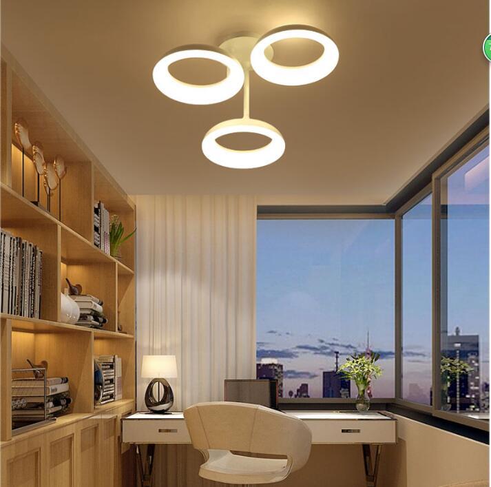 Wunderbar Runde Moderne Led Deckenleuchten Für Wohnzimmer Schlafzimmer Weiße Farbe  AC85 265V Stilvolle Design Innendeckenleuchte In Runde Moderne Led  Deckenleuchten ...