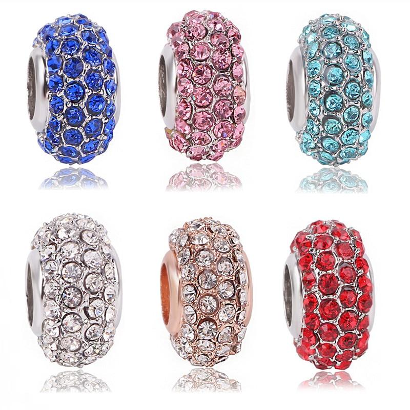 Couqcy 2018 Fashion DIY Antique Star Heart Charms Original Authentic 925 Silver Beads fits Pandora Charms bracelets & Necklaces