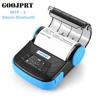 Original GOOJPRT MTP 3 80mm Bluetooth Android POS Receipt Thermal Printer Bill Machine for Supermarket Restaurant EU / US Plug